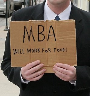 MBA Will Work for Food