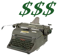 Cash for Writing