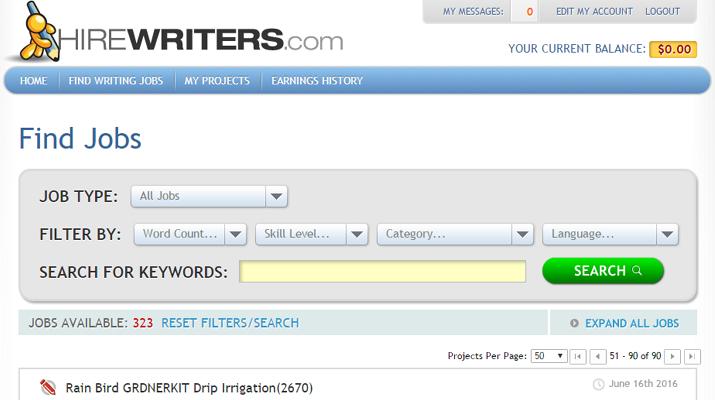 HireWriters Freelance Writing