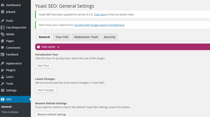 Yoast SEO for WordPress