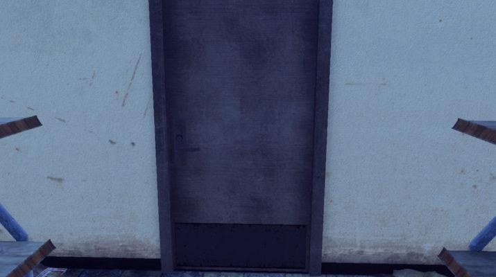 H1Z1 Bathroom Door