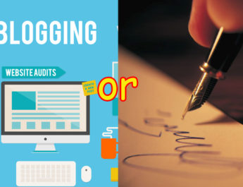 Separating blogger from author
