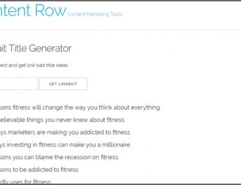 What Linkbait Title Generator Can Do for Your Blogging