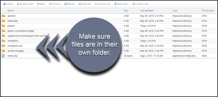 Plugin Folders