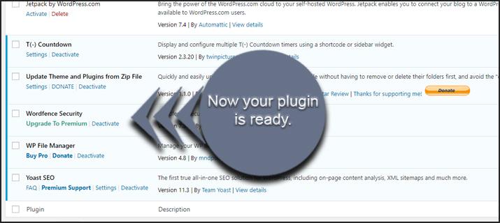 Plugin Ready