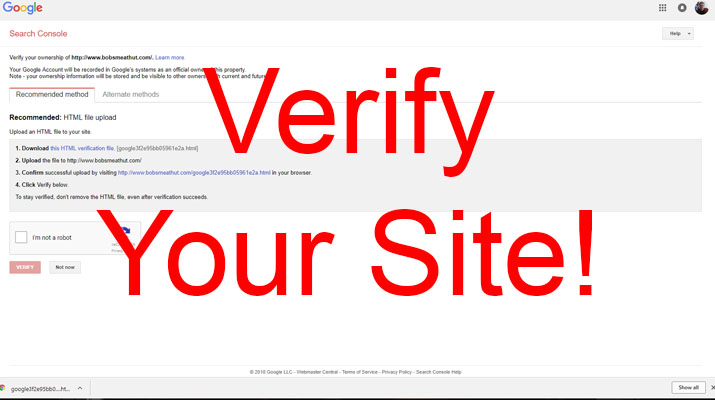 How To Verify A Wordpress Website In Google Search Console Writer Sanctuary