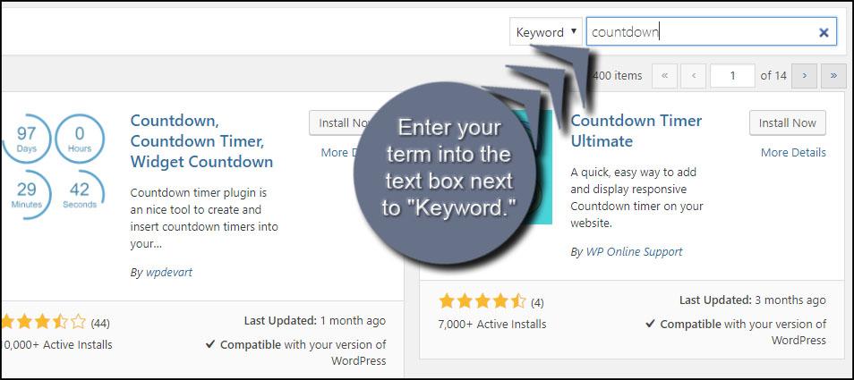 WordPress Keyword