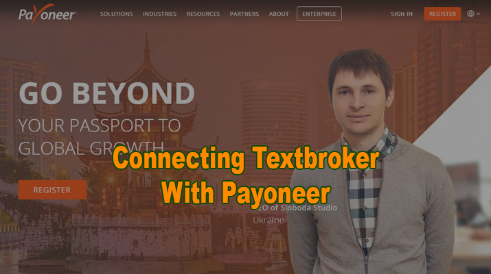 Textbroker And Payoneer