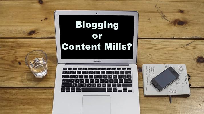 Blogging Vs Content Mills