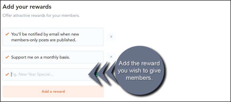 Add Member Rewards