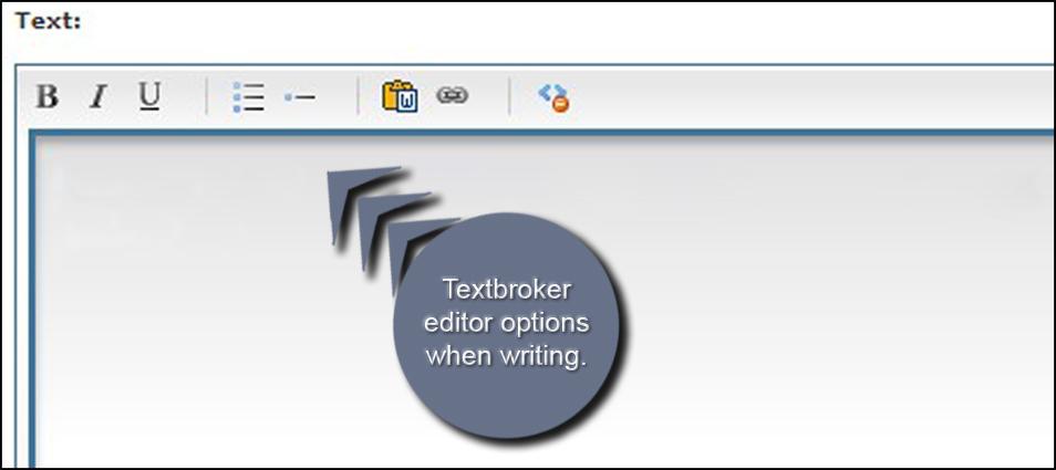 Textbroker Editor