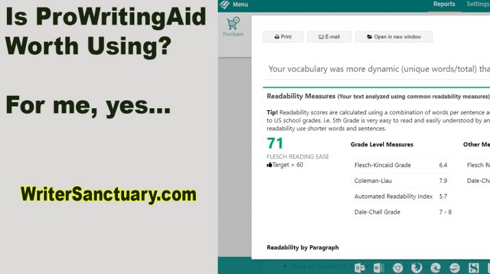 Using ProWritingAid