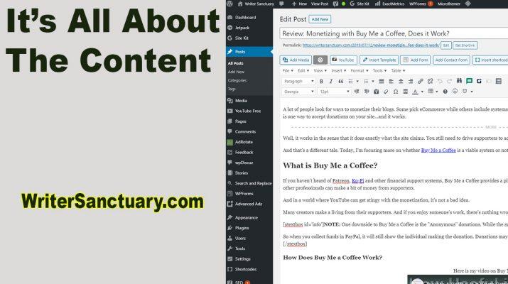 Vital Parts of a Blog