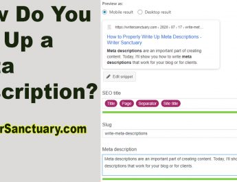 Writing Meta Descriptions