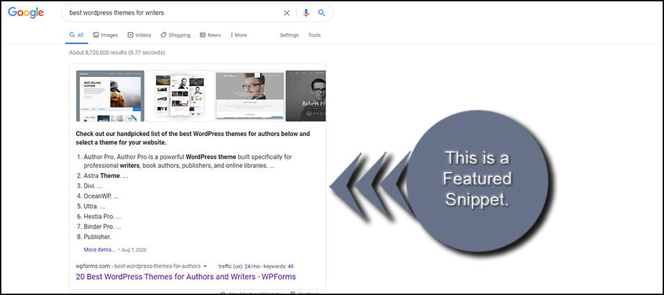 Featured Article Snippet