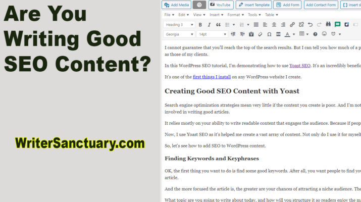 Writing Good SEO Content