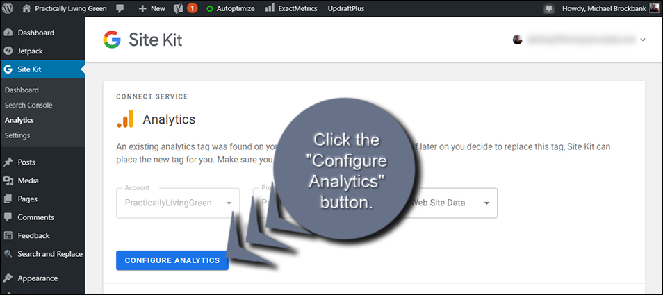 Configure Analytics