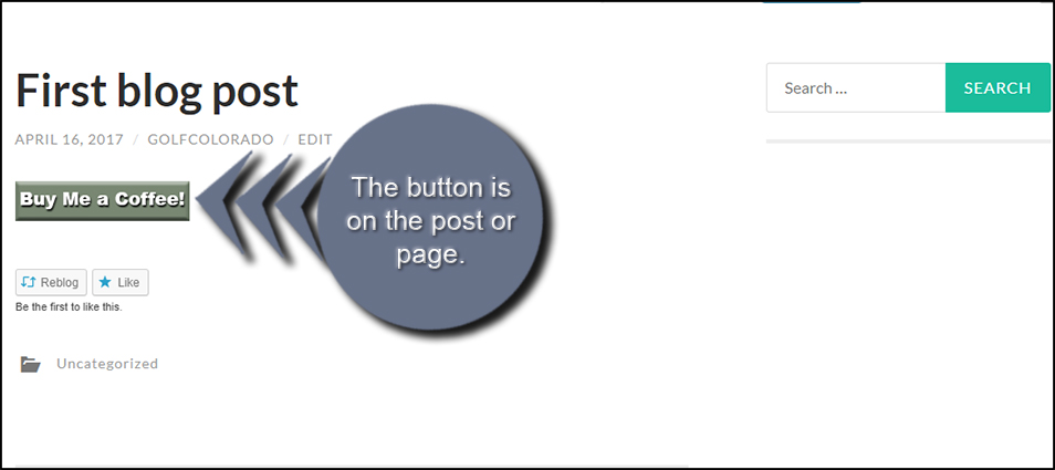 Live BMC Button