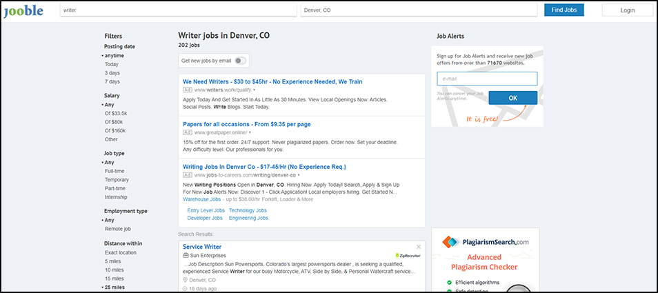 Find Writing Jobs with Aggregators
