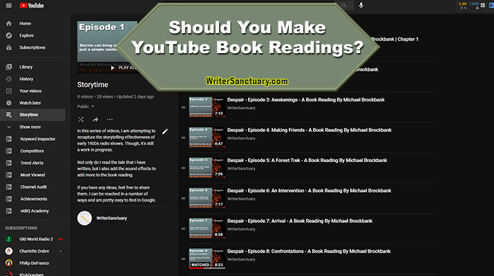 YouTube Book Readings