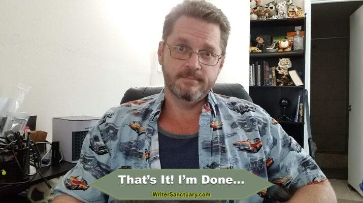 Done Blogging